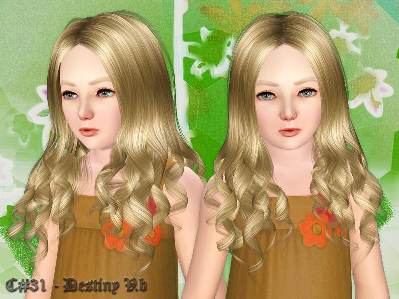 Destiny 2 Female Hairstyles  Cazy s Destiny Hairstyle v2 Child