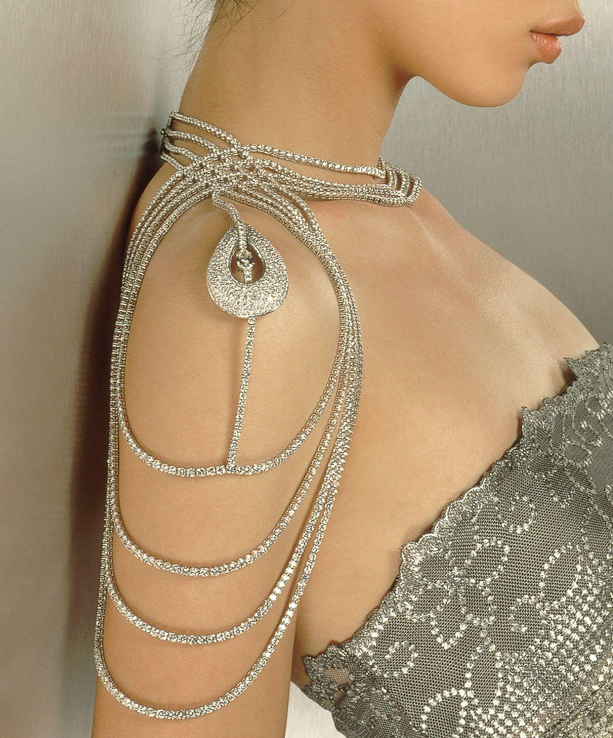 Diamond Body Jewelry  Diamond Body Ornament by Reena Ahluwalia 196 56 carats