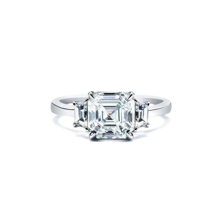 Diamond Engagement Ring History  Royal Asscher cut engagement rings a fascinating history