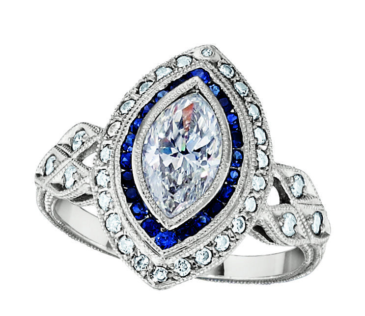 Diamond Engagement Ring History  Ever considered an estate engagement ring Vintage
