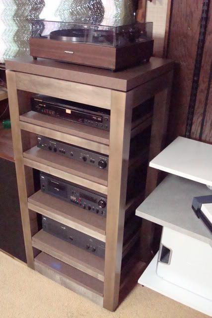 DIY Av Rack  DIY Audio Rack Progress not a FleXy