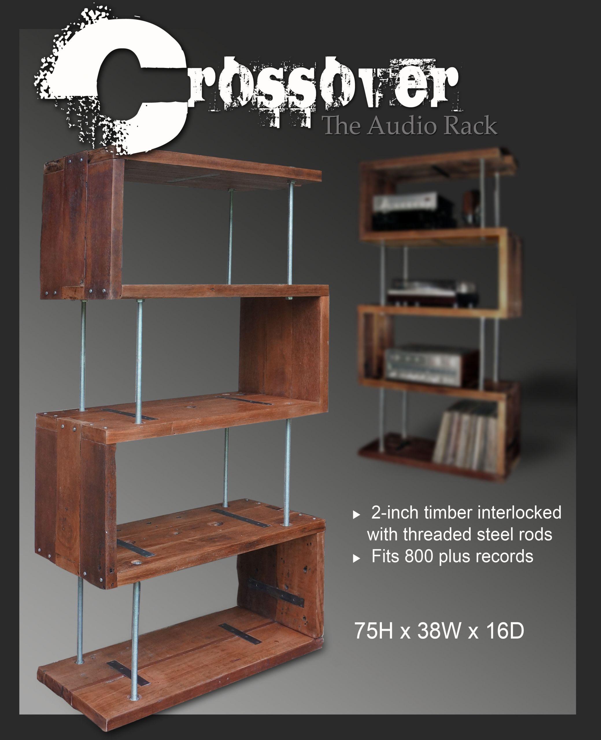 DIY Av Rack  DIY Wooden Av Rack Wooden PDF diagonal bookcase design