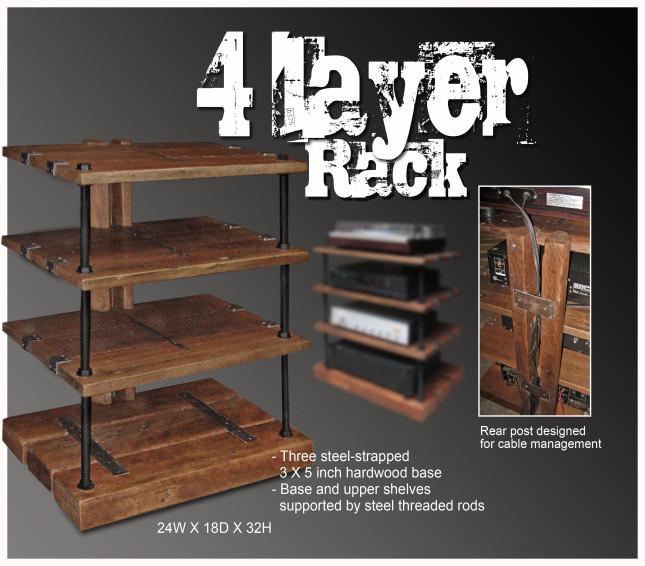DIY Av Rack  diy wood av rack