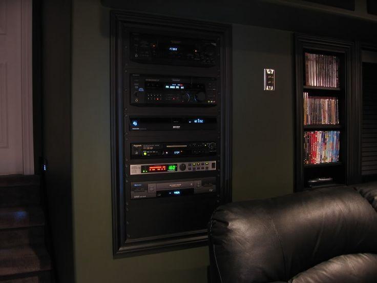 DIY Av Rack  DIY In Wall AV Rack Thread Canadian TV puting and