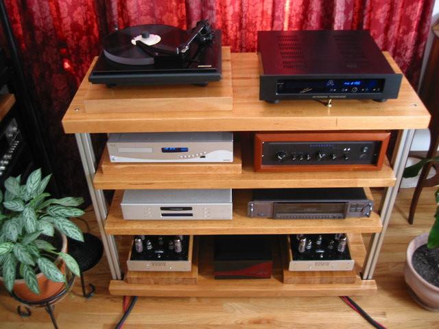 DIY Av Rack  Anyone have good plans for a DIY audio rack