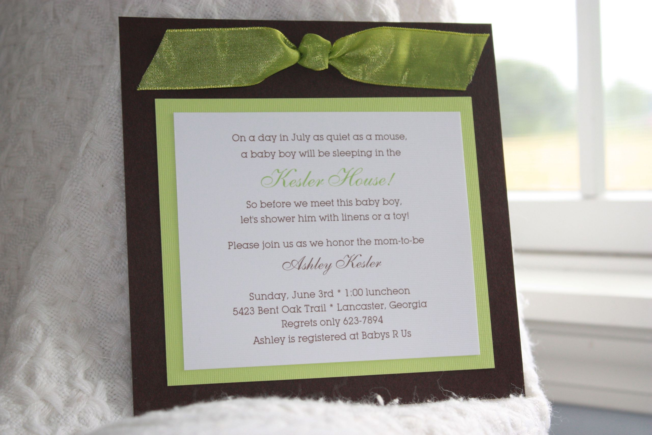 Diy Baby Shower Invitations Kits  diy bridal shower invitations