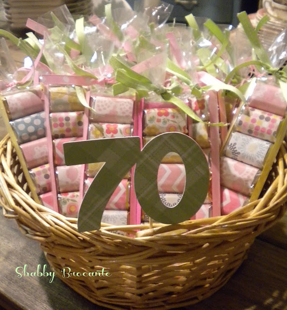 DIY Birthday Decorations For Adults  Shabby Brocante Hersey s Adult Party Favors