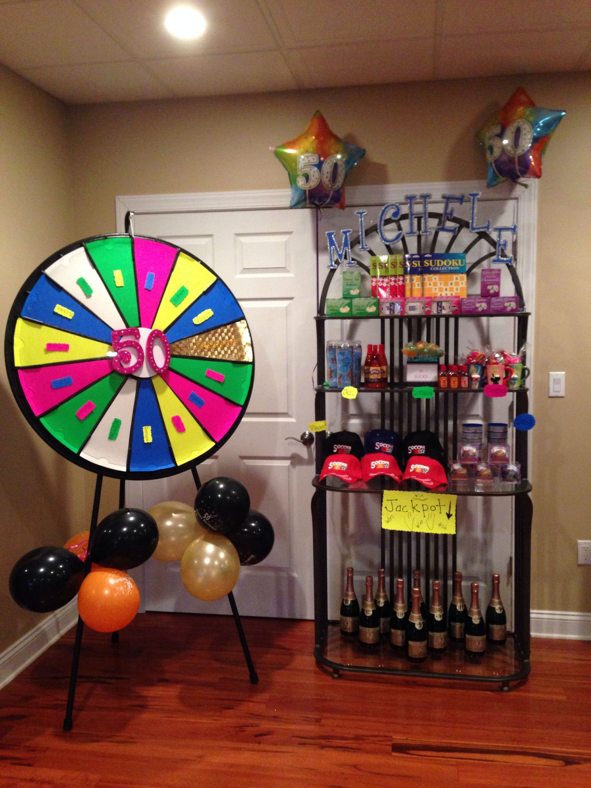 DIY Birthday Decorations For Adults  DIY 50th birthday party game ideas