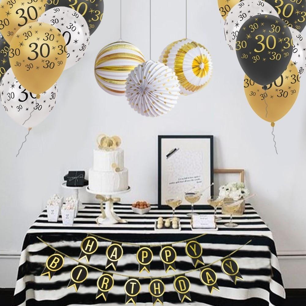 DIY Birthday Decorations For Adults  Birthday Party Decorations Adult For 30th 40th 50th