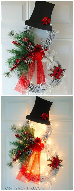 DIY Christmas Decorations Pinterest  Homemade Christmas Decorations For the Home My Daily