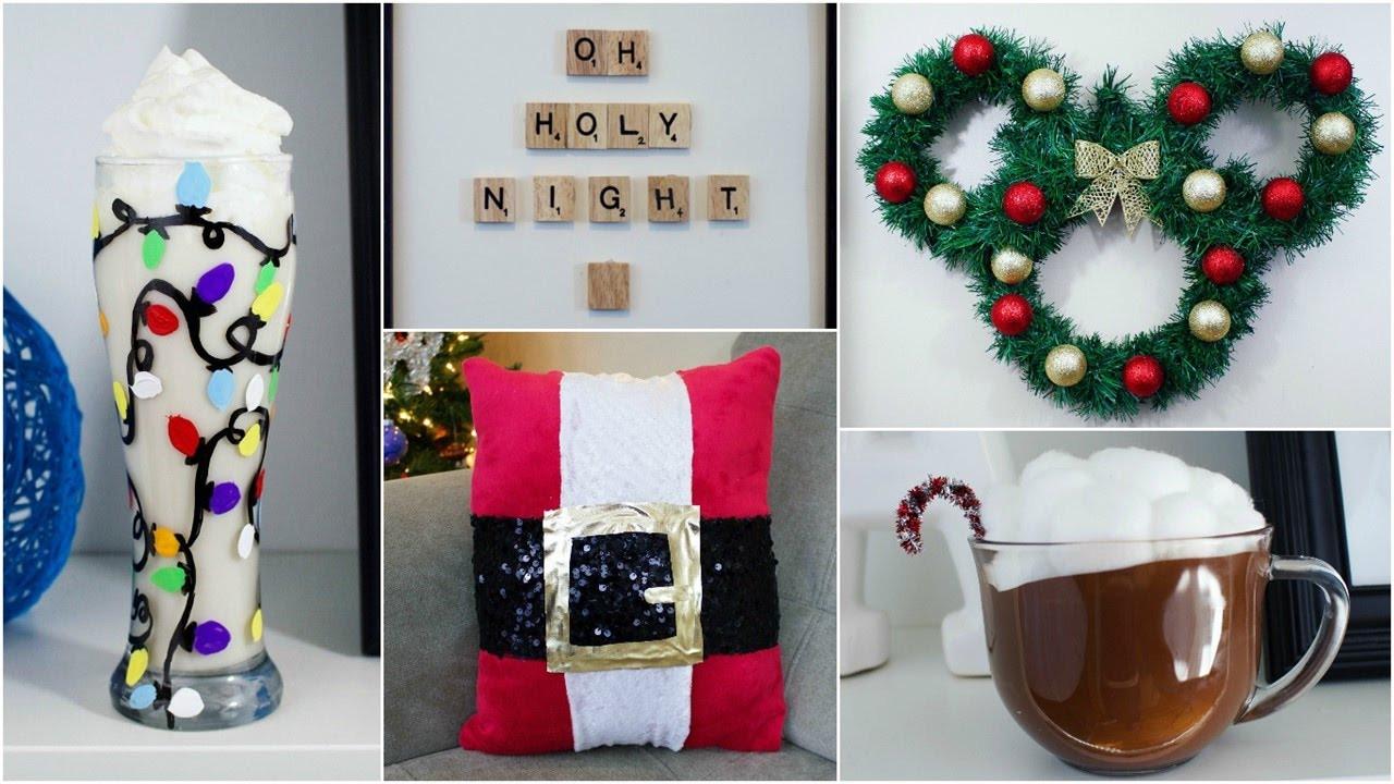 DIY Christmas Decorations Pinterest  CHEAP & EASY DIY CHRISTMAS DECOR IDEAS