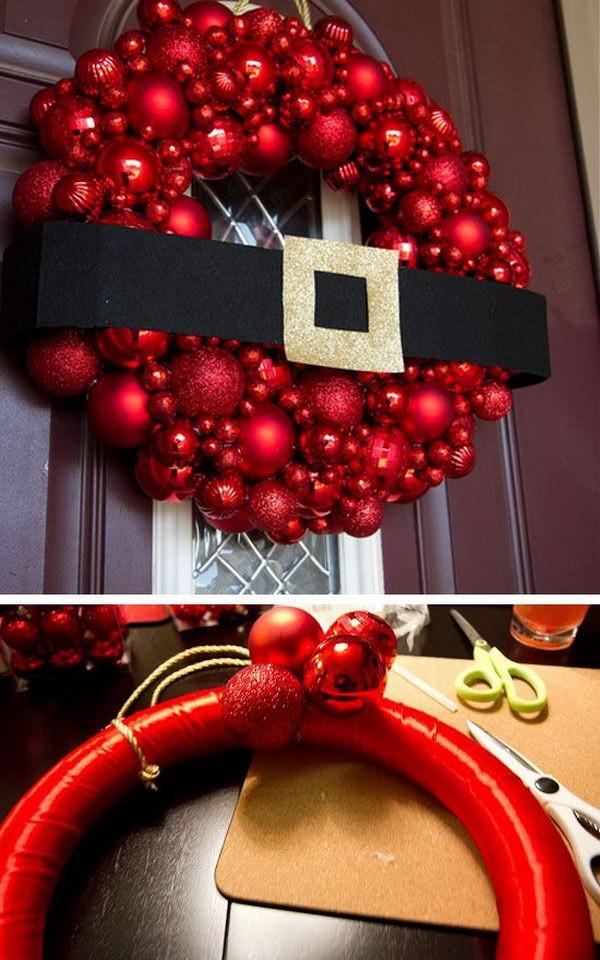 DIY Christmas Decorations Pinterest  20 Creative DIY Christmas Door Decoration Ideas Noted List