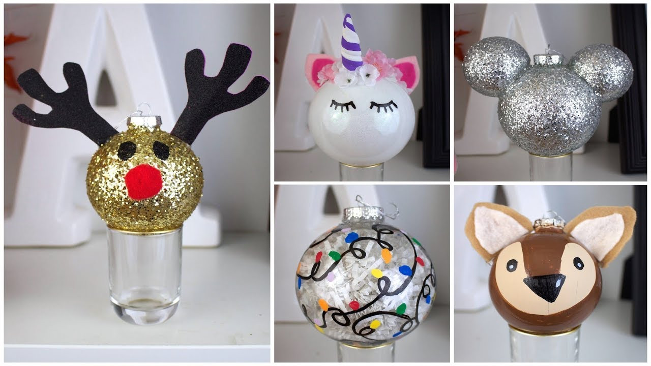 DIY Christmas Decorations Pinterest  7 CHEAP & EASY DIY CHRISTMAS ORNAMENTS