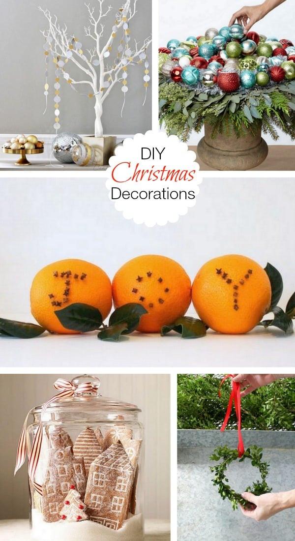 DIY Christmas Decorations Pinterest  DIY Christmas Decorations