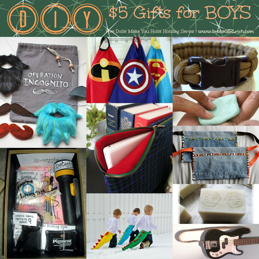 DIY Christmas Gifts For Brothers  Five Dolla Make You Holla Holiday Series Brothers