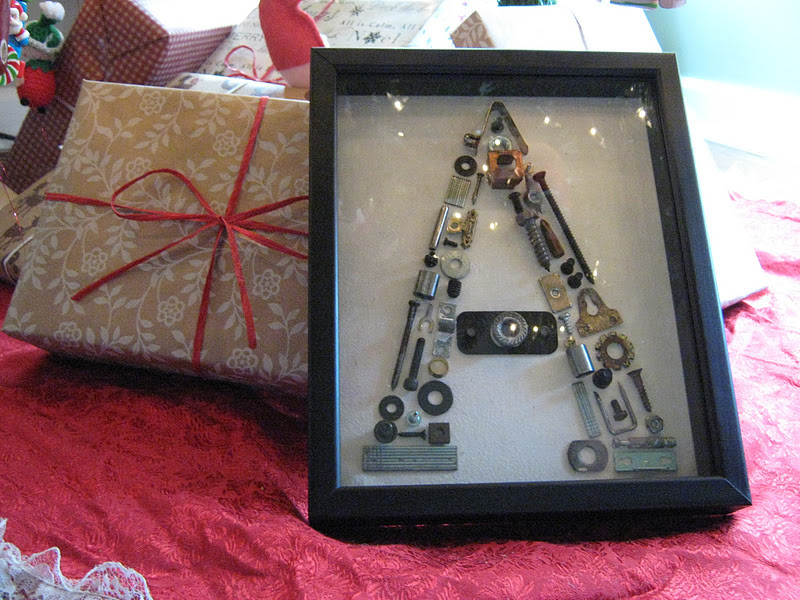 DIY Christmas Gifts For Brothers  Rindy Mae Nuts & Bolts Monogram