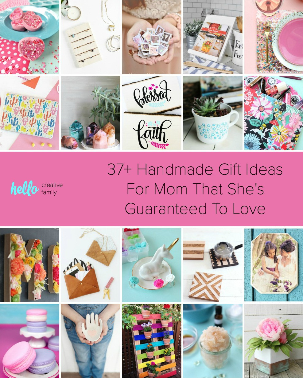 DIY Christmas Gifts For Mom From Daughter  37 Handmade Gift Ideas For Mom That She s Guaranteed To Love