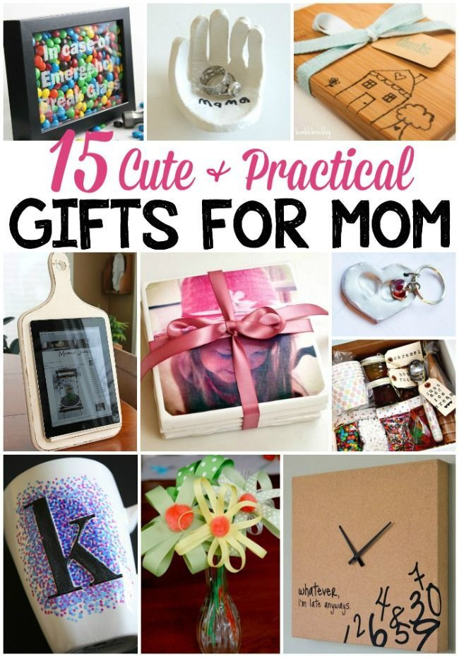 DIY Christmas Gifts For Mom From Daughter  15 Cute & Practical DIY Gifts for Mom
