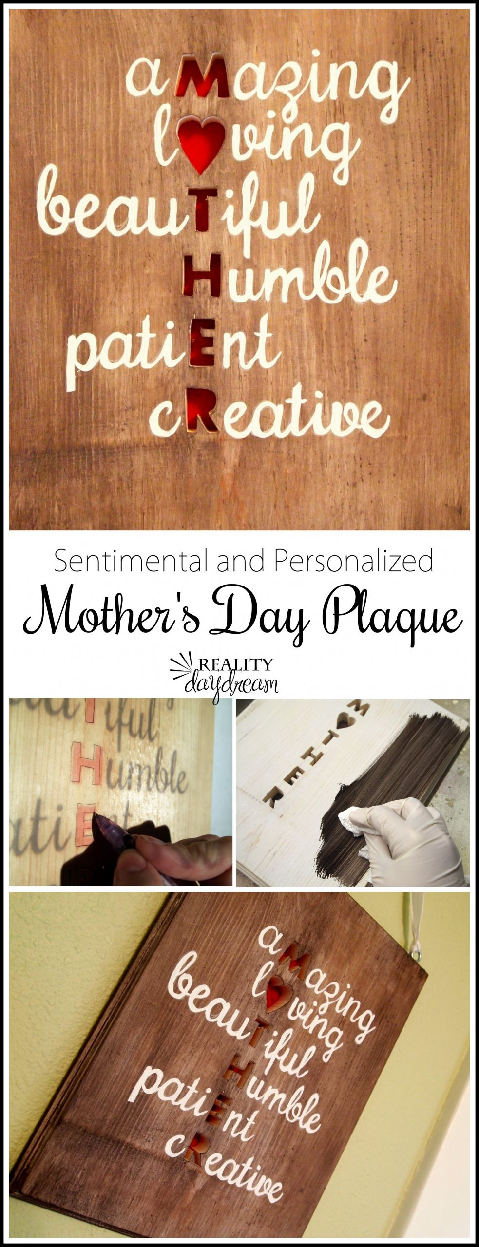 DIY Christmas Gifts For Mom From Daughter  Meaningful Mother's Day Gift Idea Reality Daydream