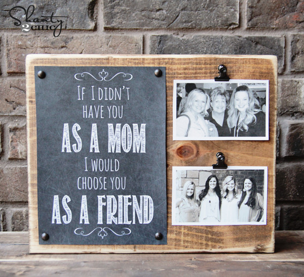 DIY Christmas Gifts For Mom From Daughter  33 Thoughtful DIY Mother s Day Gifts Thrillbites