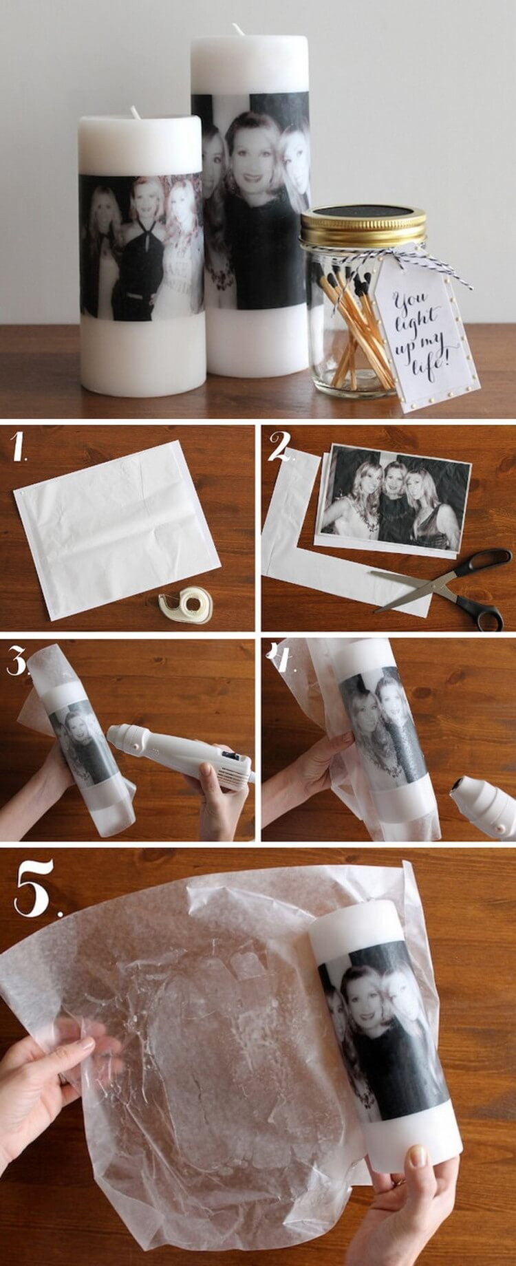 DIY Christmas Gifts For Mom From Daughter  27 DIY Decorated Candle Ideas You ll Love In 2020