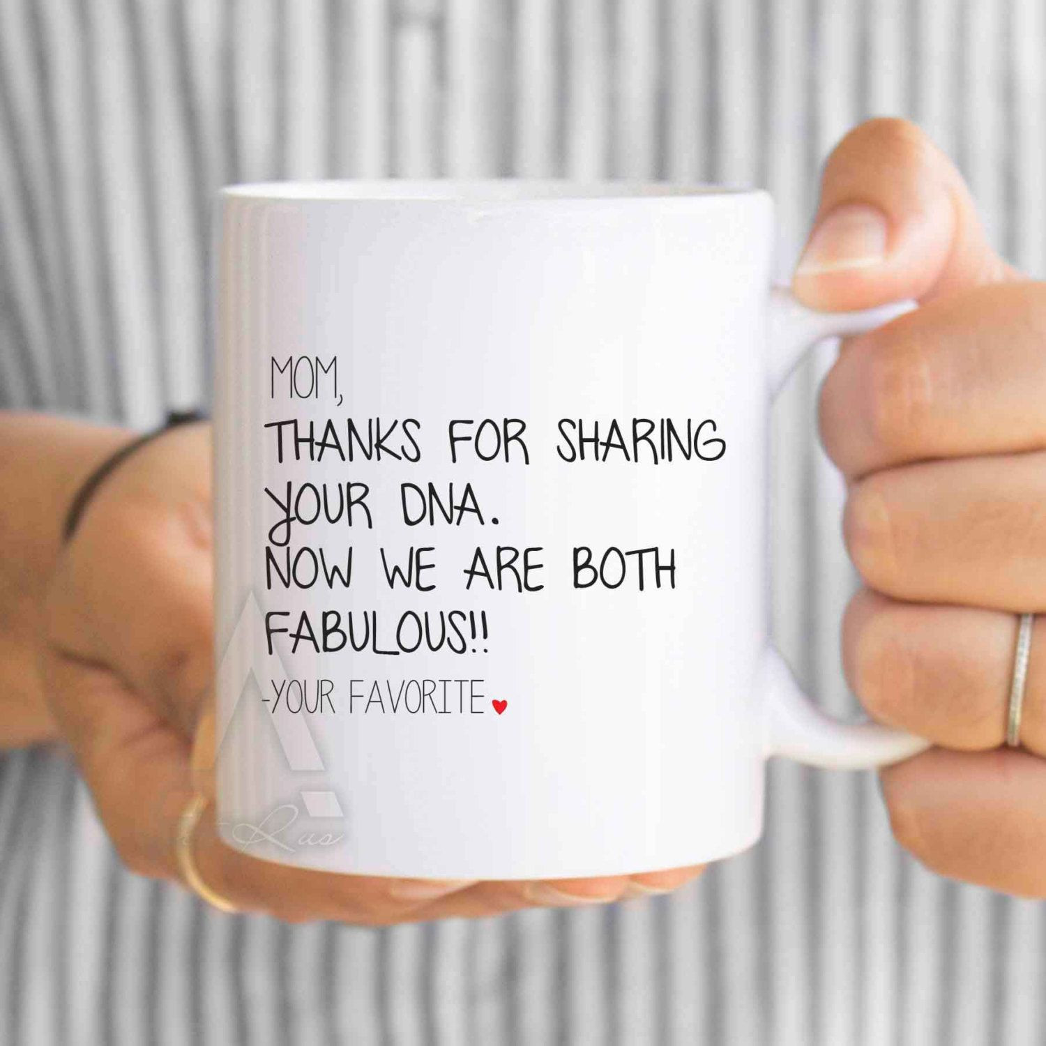 DIY Christmas Gifts For Mom From Daughter  Christmas t from daughter funny coffee mug for mom