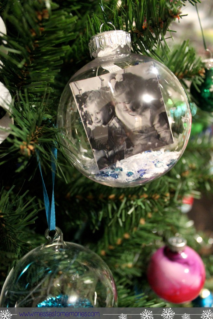 DIY Christmas Ornaments With Pictures  25 DIY Christmas Ornaments