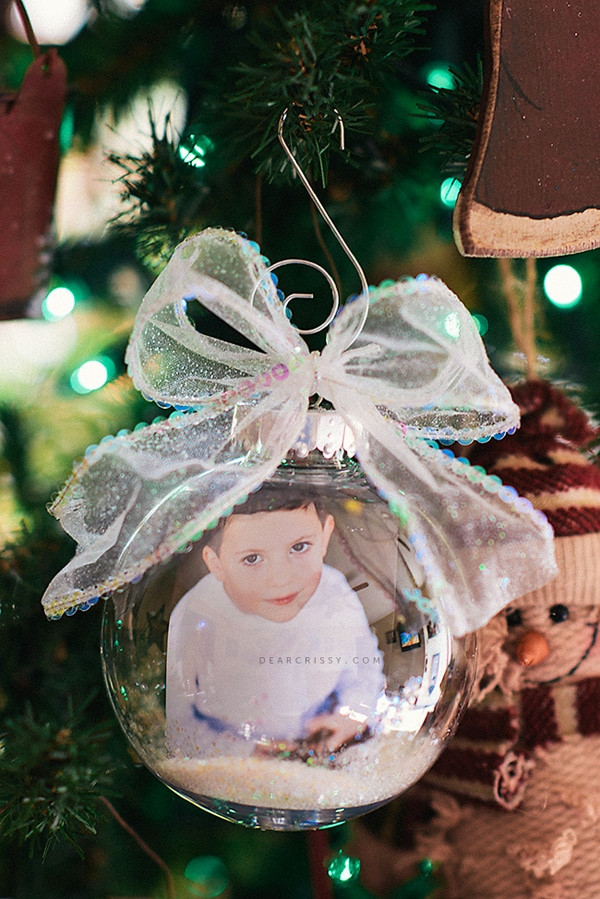 DIY Christmas Ornaments With Pictures  25 Super Creative DIY Ornaments Pretty My Party