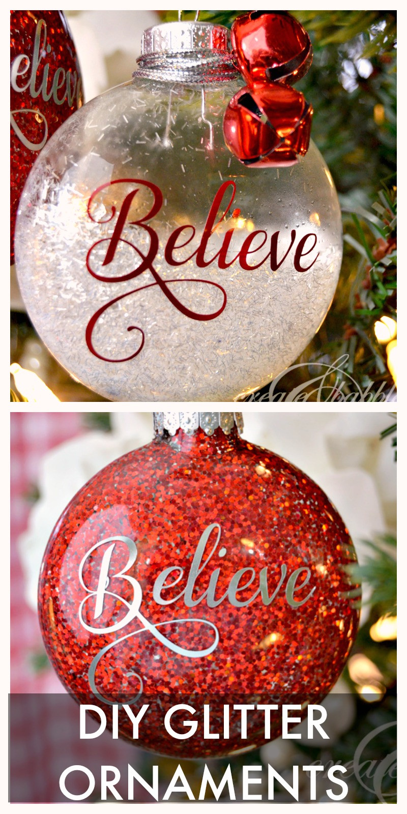 DIY Christmas Ornaments With Pictures  30 Christmas Tree Ornaments to Make TGIF This Grandma