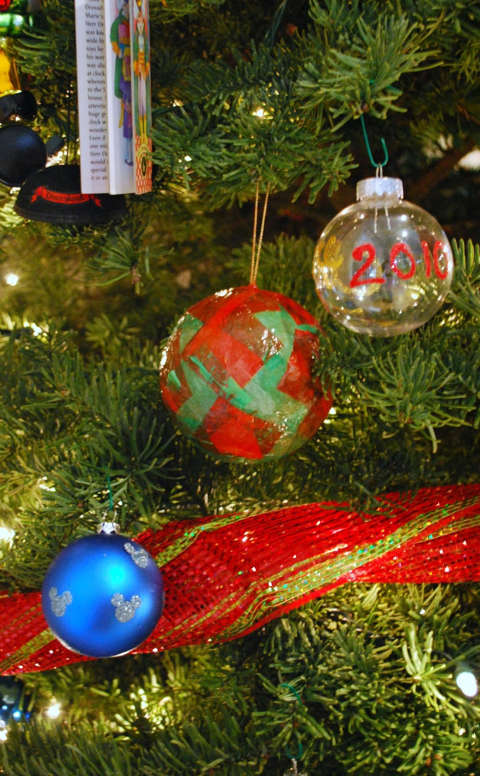 DIY Christmas Ornaments With Pictures  Homemade Christmas Ornaments with Tissue Paper Mess for Less