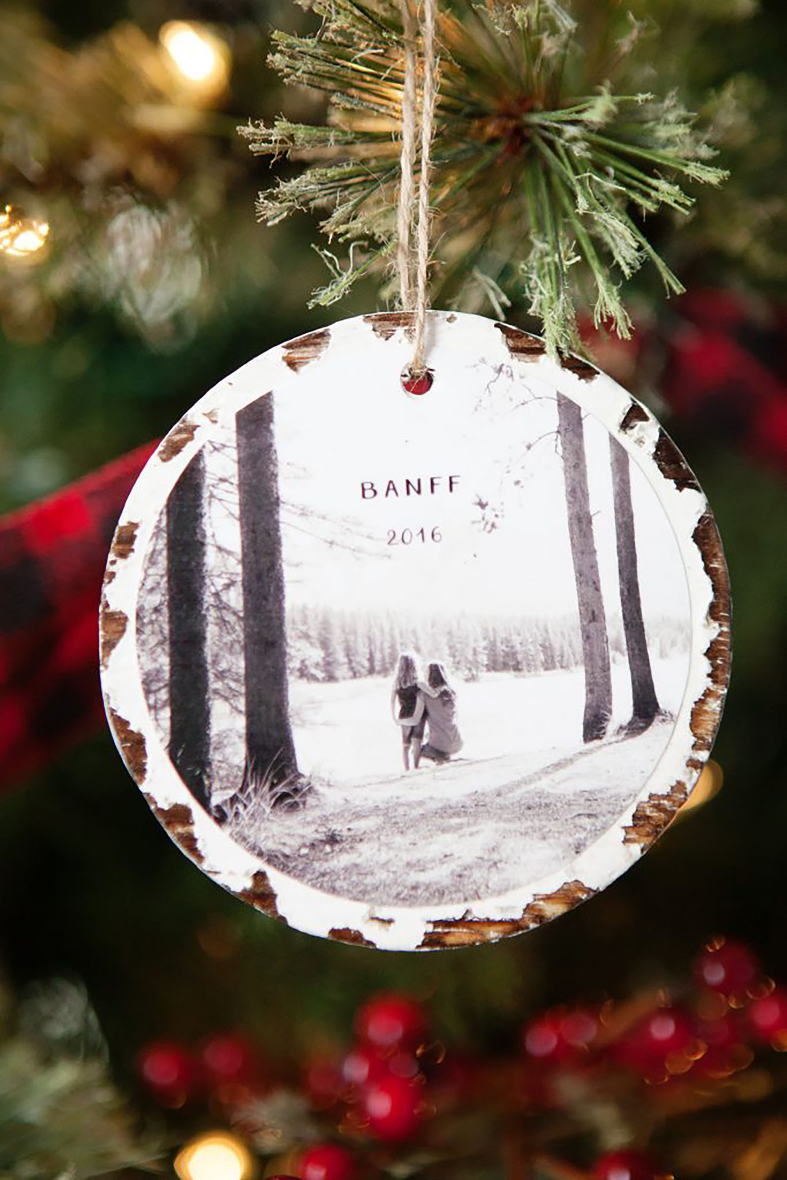 DIY Christmas Ornaments With Pictures  50 Homemade Christmas Ornaments DIY Crafts with