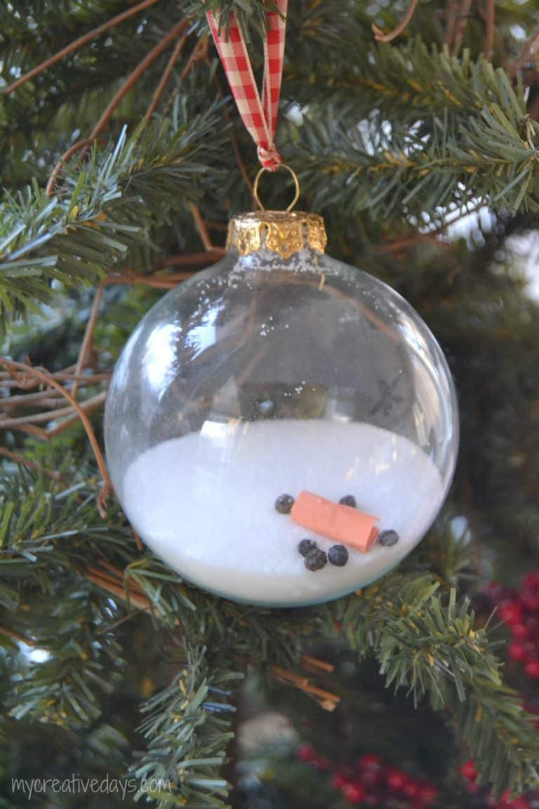 DIY Christmas Ornaments With Pictures  A Homemade Christmas Ornament that uses kitchen staples to