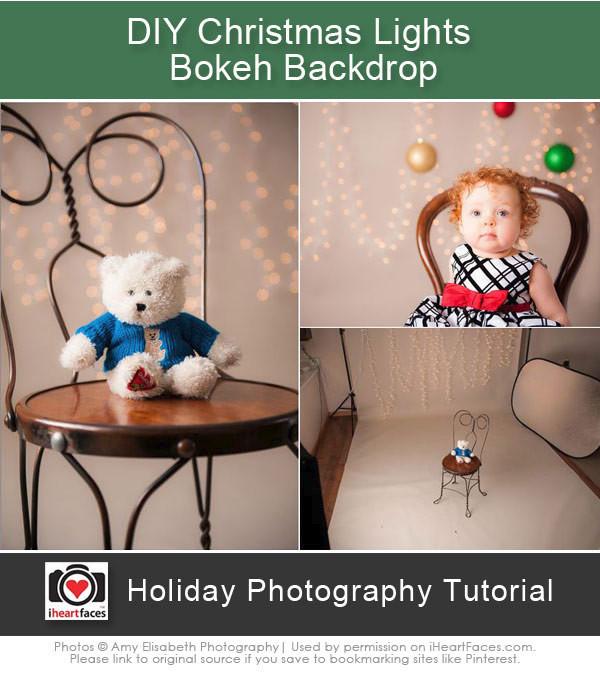 DIY Christmas Photography Backdrop  55 Fun and Creative DIY graphy Backdrops