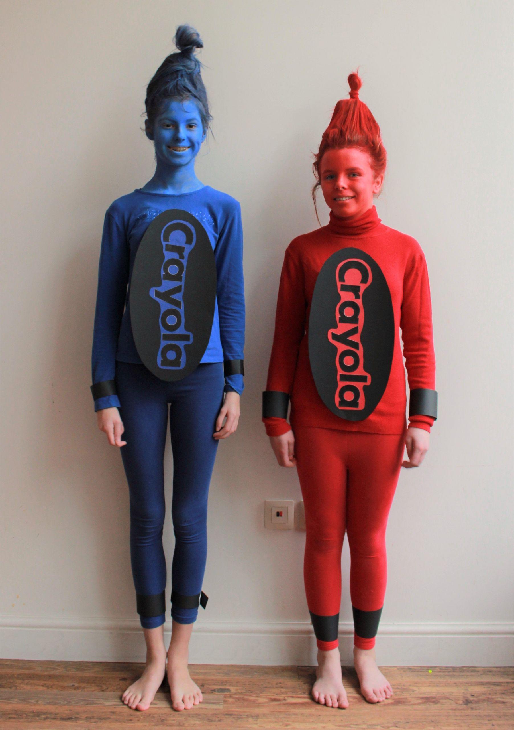 DIY Crayon Costume  Crayon Costume DIY costume carnival …