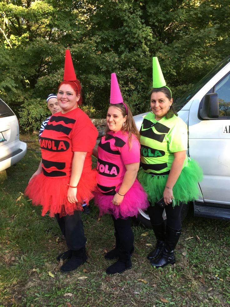 DIY Crayon Costume  Homemade Crayola crayon costume halloween crayon