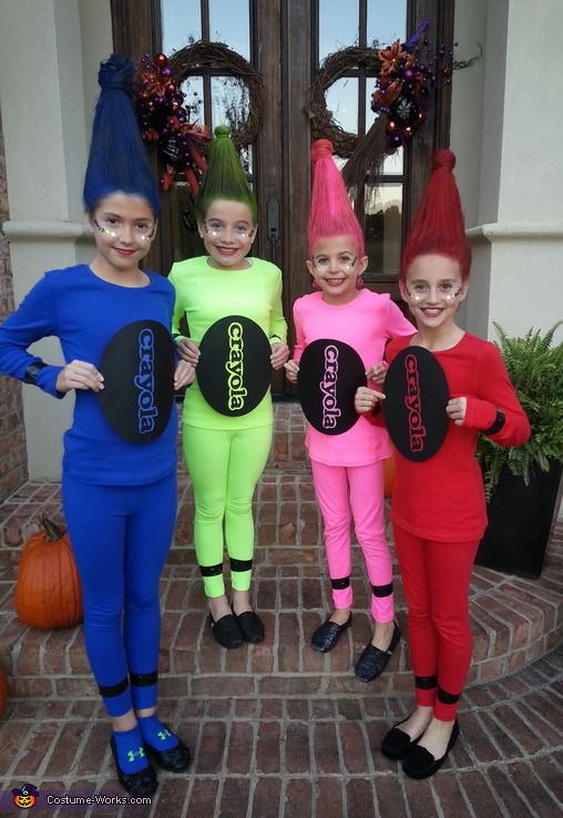 DIY Crayon Costume  Last Minute DIY Kids Halloween Costumes Close To Home