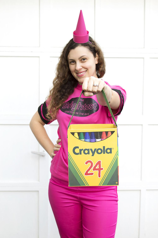 DIY Crayon Costume  DIY Brightest Crayon Costume — Party HarDIY