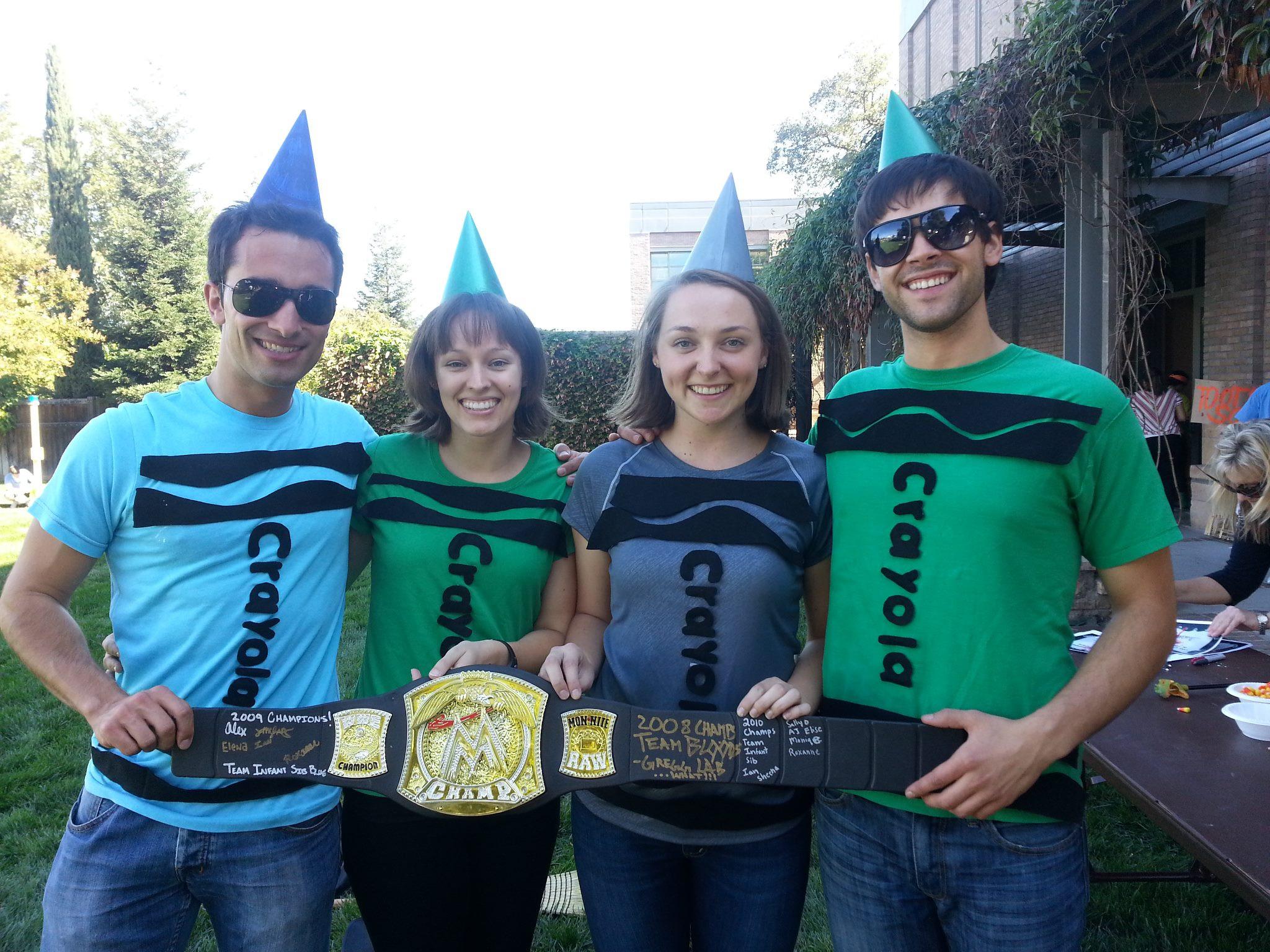 DIY Crayon Costume  Simply Crafty DIY Crayon Costume