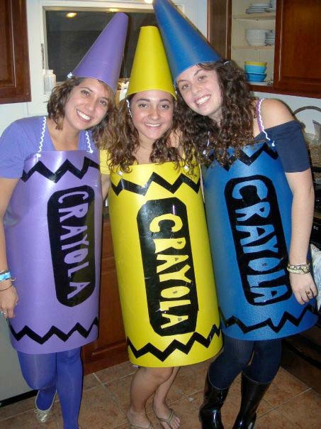 DIY Crayon Costume  Crayon Costumes for Men Women Kids