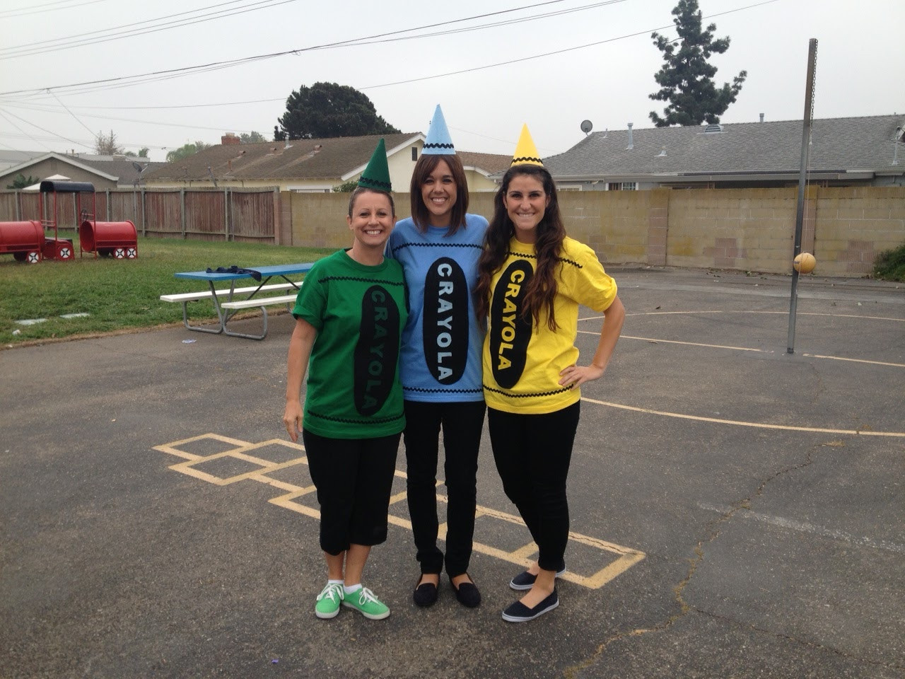 DIY Crayon Costume  Crayons Cauldrons and Candy OH MY Apples and ABC s