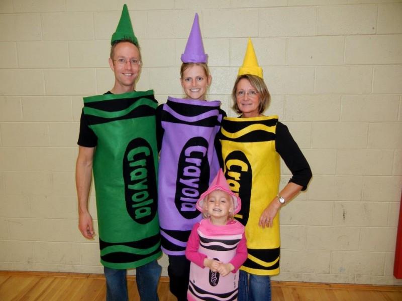 DIY Crayon Costume  Crayons