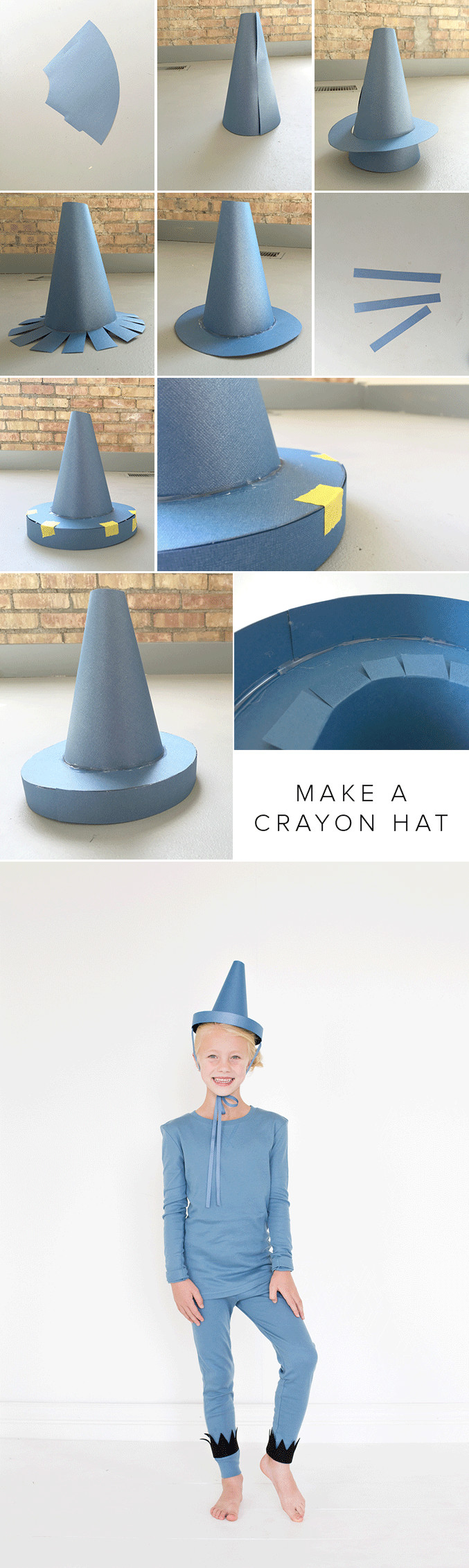 DIY Crayon Costume  The Day the Crayons Quit costumes school days