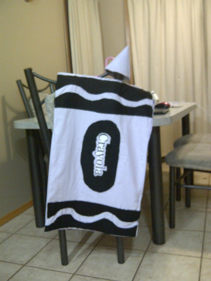 DIY Crayon Costume  DIY Crayon costume DIY
