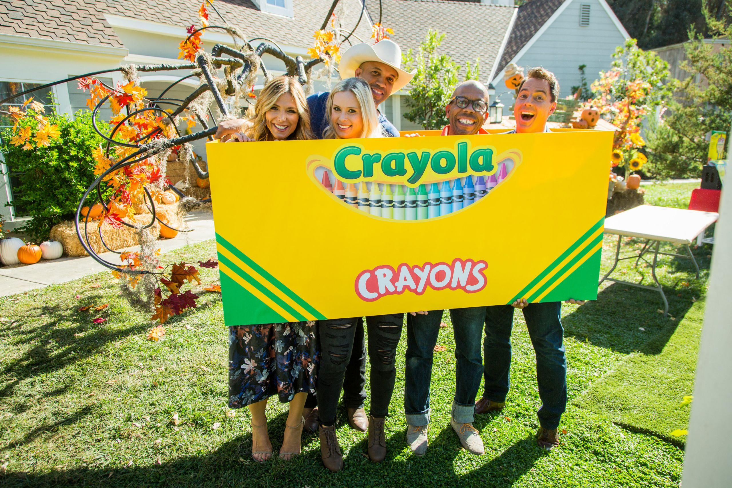 DIY Crayon Costume  DIY Family Crayon Costume Home & Family