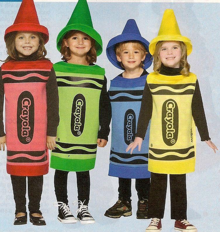 DIY Crayon Costume  crayons …