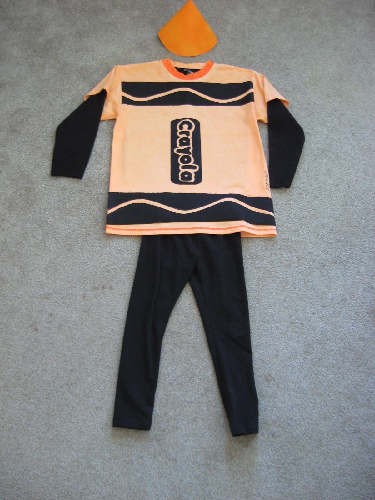 DIY Crayon Costume  Eclectic Studio DIY Crayon costume for Halloween