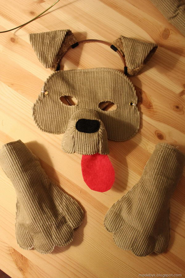 DIY Dog Costume For Kids  15 Dog Halloween Costumes for Kids or Adults 2017