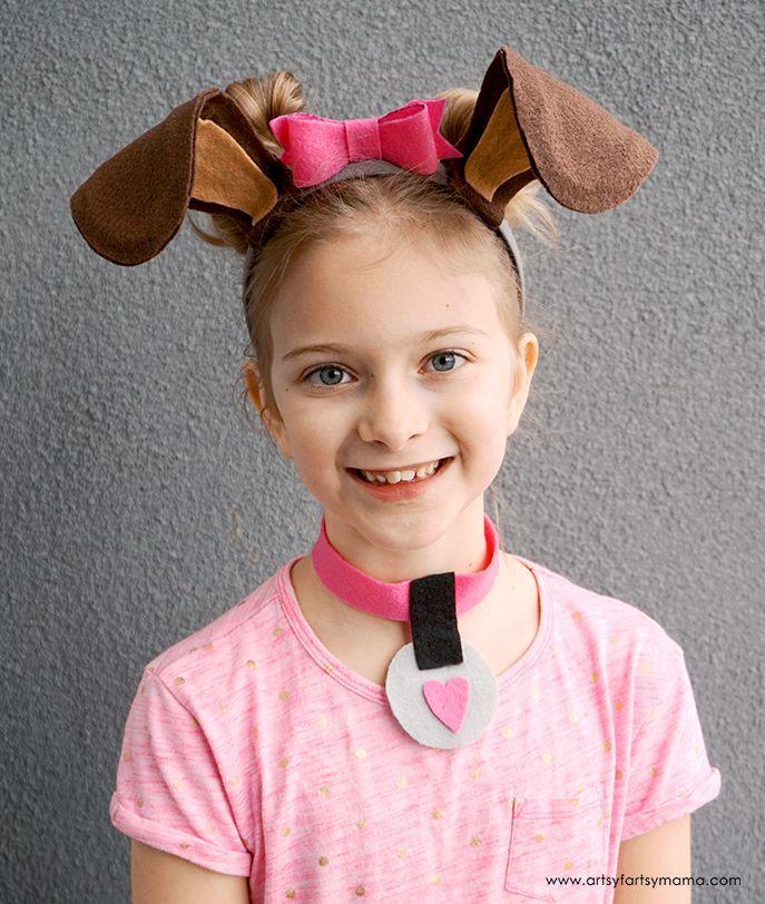 DIY Dog Costume For Kids  DIY Dog Costume Accessories