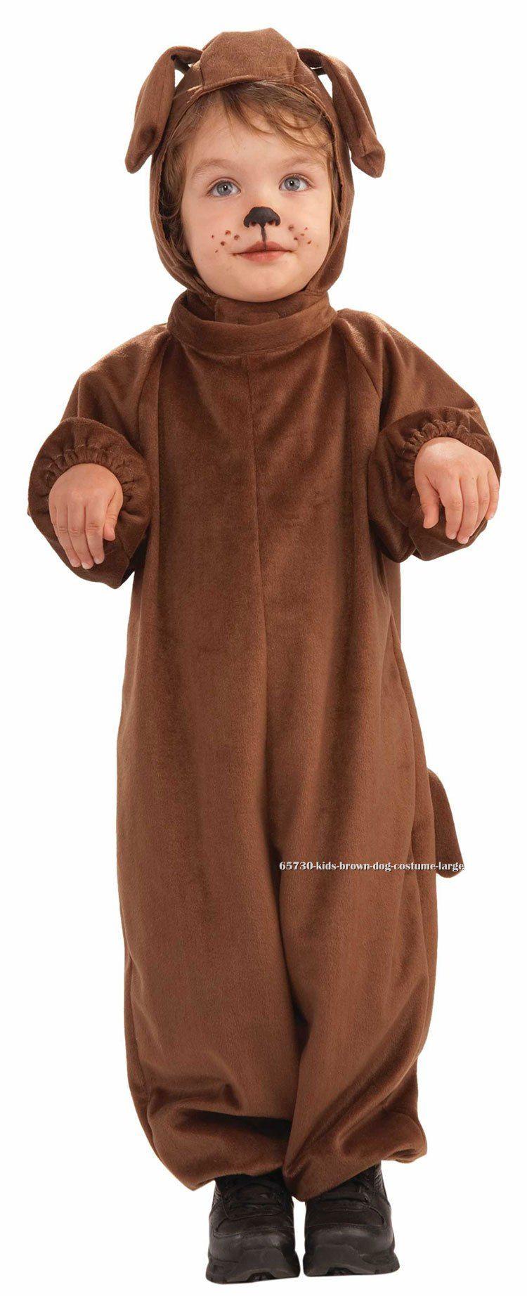 DIY Dog Costume For Kids  Kids Brown Dog Costume $16 99