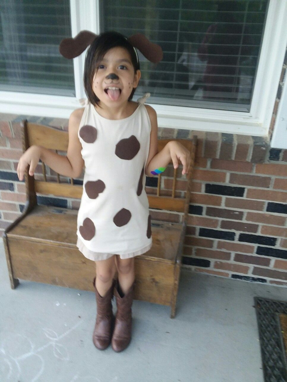 DIY Dog Costume For Kids  Peter Puppy Letterland Day
